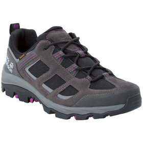 Jack Wolfskin Vojo 3 Texapore Low-Cut Schuhe Damen dark steel/purple